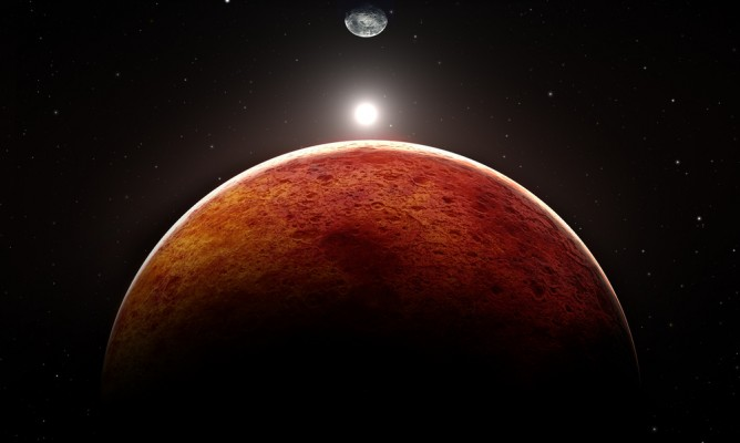 Ποιες ζωδιακές θέσεις θεωρούνται δυνατές για τον πλανήτη Άρη;
