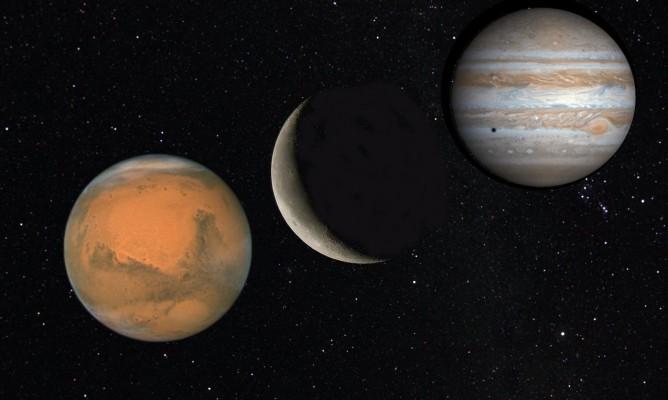 Αρης και Δίας
