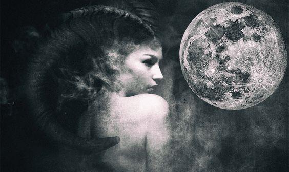 Η σελήνη στον Αιγόκερω!